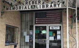 Reber Memorial Library Logo